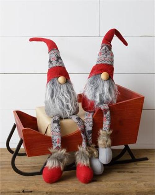 Snow Lodge - Dangling Legs Gnome