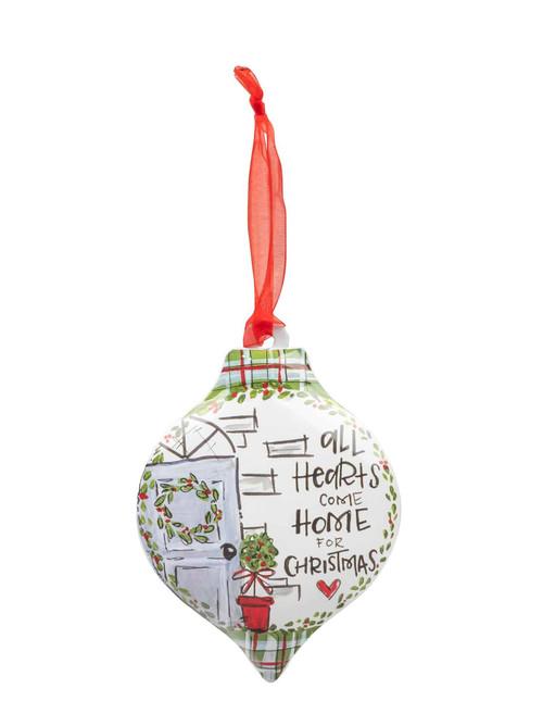 All Hearts Personalizable Ornament