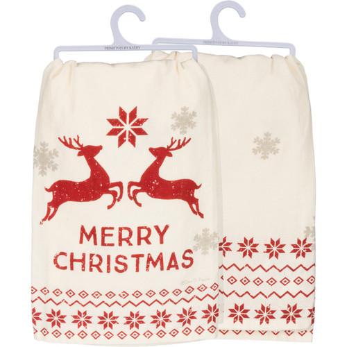 Dish Towel - Merry Christmas