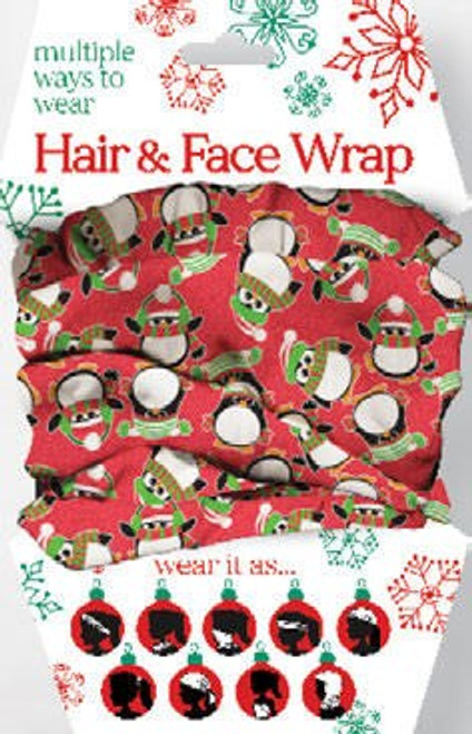 PENGUINS HAIR-FACE WRAP