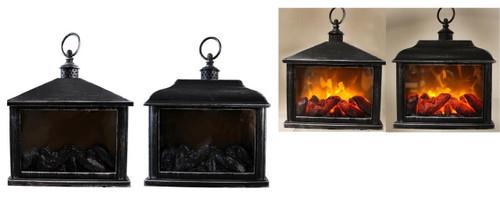 Fireplace Effect Lantern