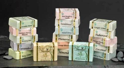 Goats Milk & Olive Oil Soap Bar  (Choose Scent)
