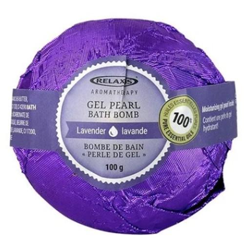 Gel Pearl Bath Bomb Explosion Lavender