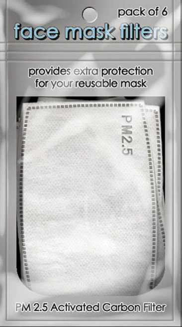 Filter Pack for Face Mask (5 Pieces)