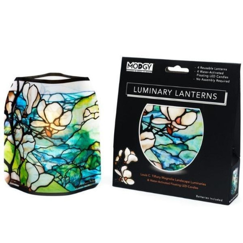 Luminary Lanterns Magnolia Landscape (pkg of 4)