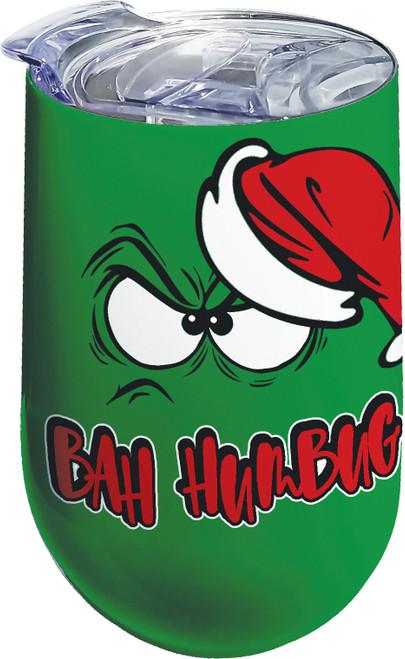 BAH HUMBUG STAINLESS WINE TUMBLER