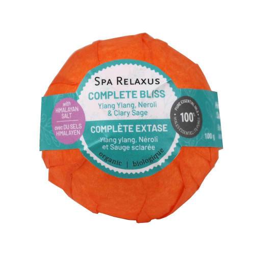 Himalayan Salt Organic Bath Bomb - Complete Bliss