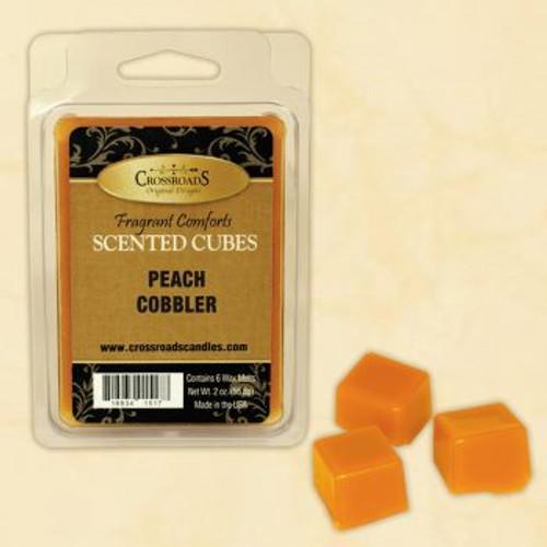 Crossroads Peach Cobbler Scented Cubes