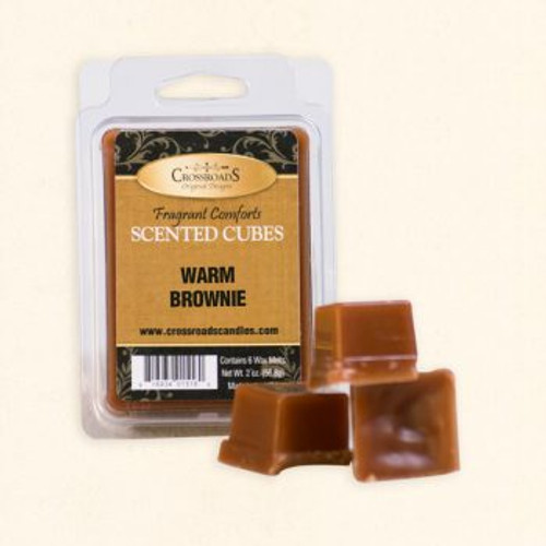 Crossroads Warm Brownie Scented Cubes