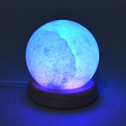 MINI COLOR CHANGING LED SPHERE SALT LAMP