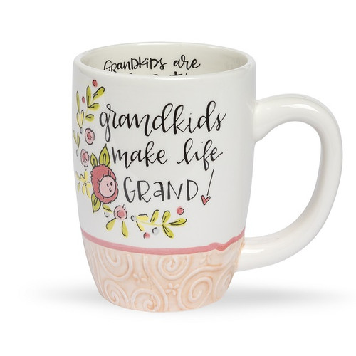 Grandkids Make Life Grand Simple Inspirations Mug