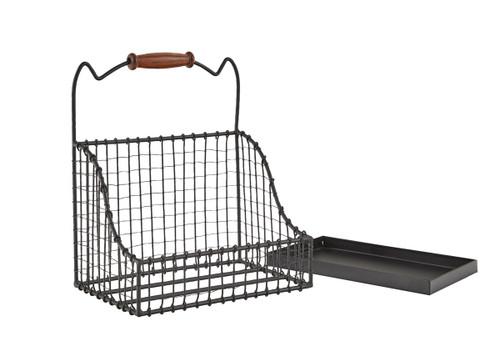 "Hanging Wire Basket 9""H X 8""W X 5""D"