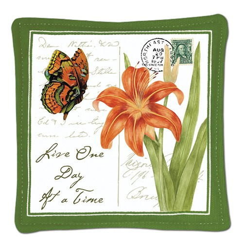 Spiced Mug Mat - Live one day at a time