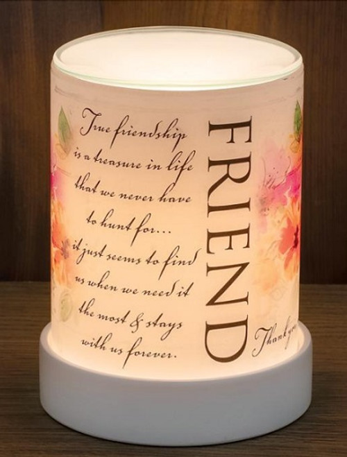 TRUE FRIENDSHIP LIGHTED SCENT WARMER