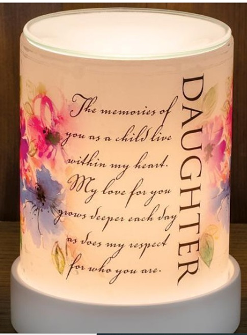 DAUGHTER MY LOVE YOU LIGHTED SCENT WARMER