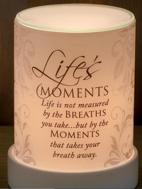 LIFE'S MOMENTS LIGHTED SCENT WARMER