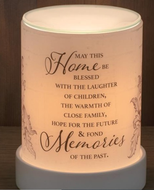 MAY THIS HOME LIGHTED SCENT WARMER