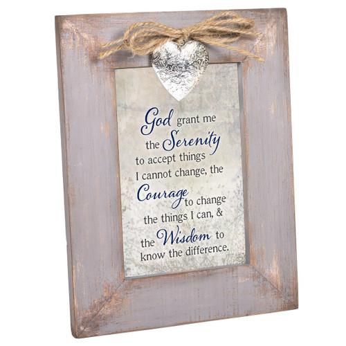 GOD GRANT SERENITY COURAGE WISDOM