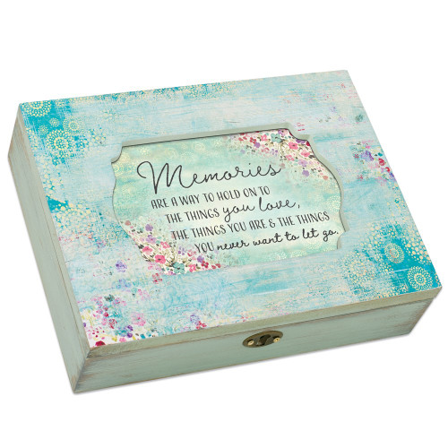 MEMORIES HOLD THINGS YOU LOVE MUSIC BOX
