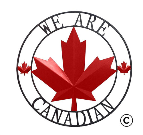 WE ARE CANADIAN CIRCLE (SMALL)