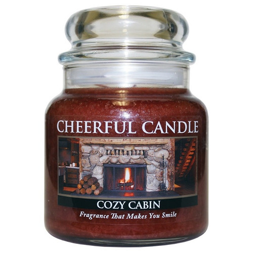 Cozy Cabin Cheerful Candle 16 oz.