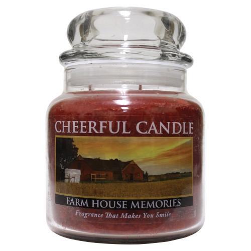 Farm House Memories Cheerful Candle 16 oz.