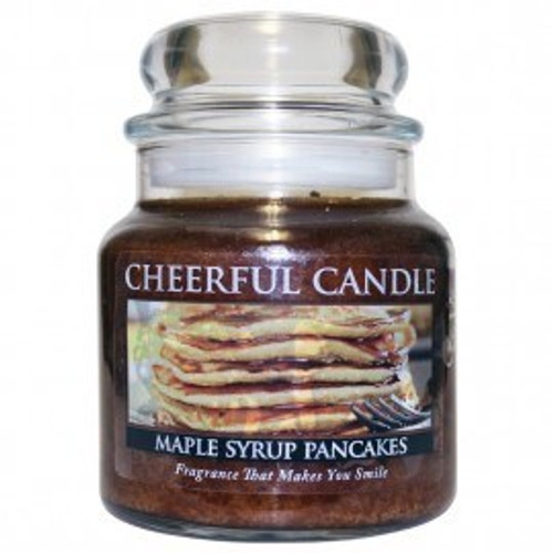 Maple Syrup Pancakes Cheerful Candle 16 oz.