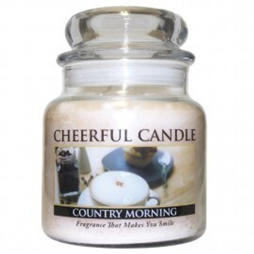 Country Morning Cheerful Candle 16 oz.
