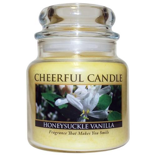 Honeysuckle Vanilla Cheerful Candle 16 oz.