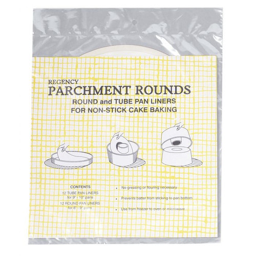 Pre-Cut Round and Tube Liners, 12 Round, 12 Tube