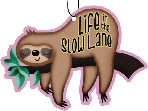 Sloth - Life in the Slow Lane - Air Freshener (3-Pack)
