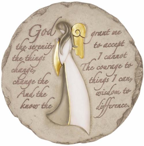 ANGEL SERENITY PRAYER STONE
