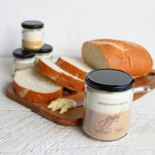 Fresh Baked Bread Soy Candle 8oz