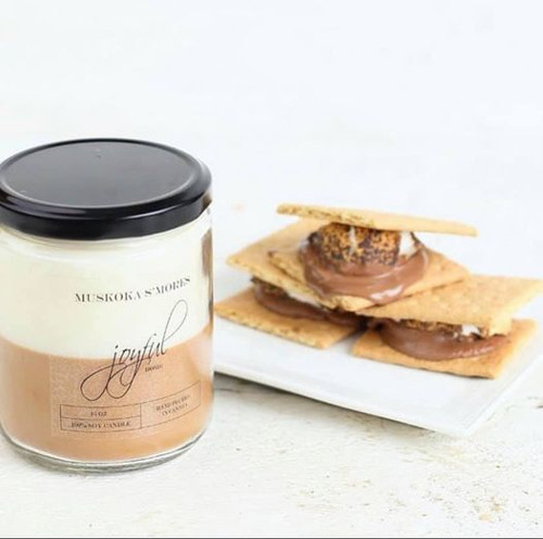 Muskoka S'mores Soy Candle 8oz