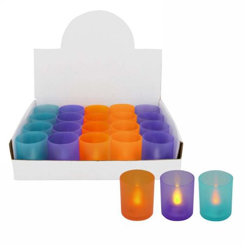 Colorful led tea-light 3colors to choose from