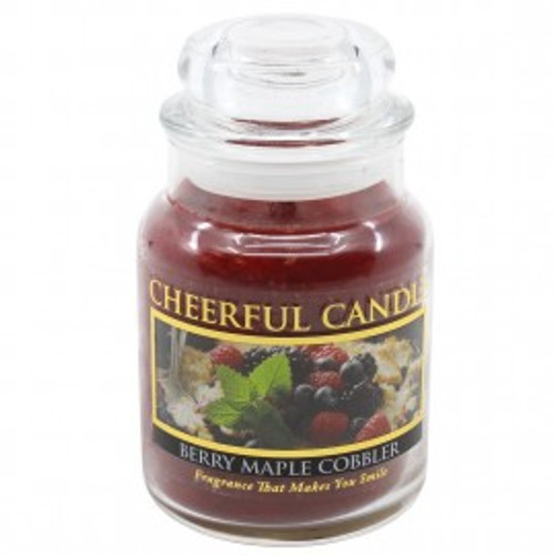 Berry Maple Cobbler Cheerful Candle 6 oz.