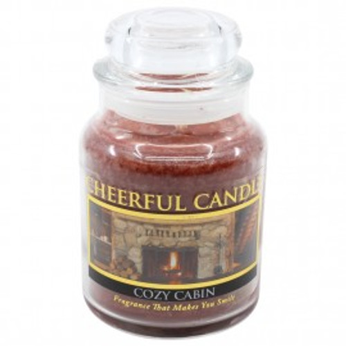 Cozy Cabin Cheerful Candle 6 oz.