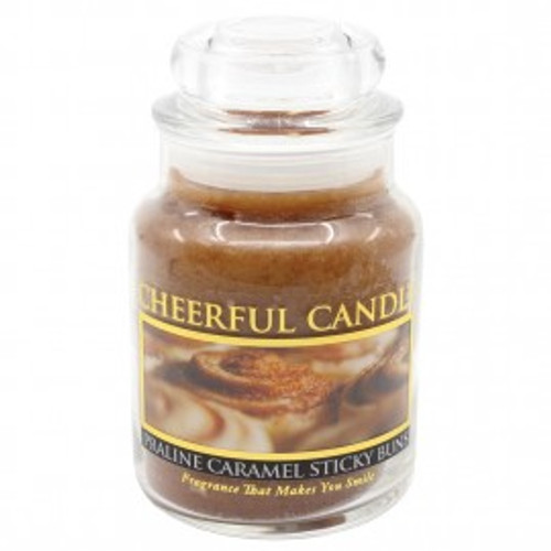 Praline Caramel Sticky Buns Cheerful Candle 6 oz.
