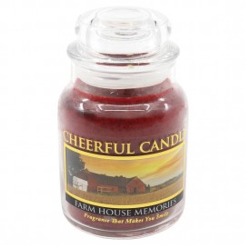 Farm House Memories Cheerful Candle 6 oz.