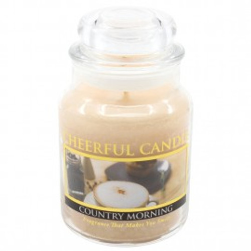 Country Morning Cheerful Candle 6 oz.