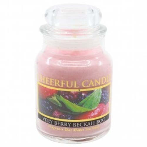 Very Berry Beckah Boo Cheerful Candle 6 oz.