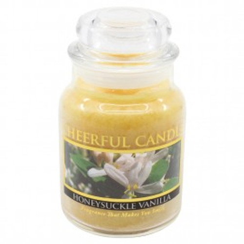 Honeysuckle Vanilla Cheerful Candle 6 oz.