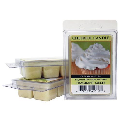 Creamy Vanilla Cheerful Candle Fragrance Melts