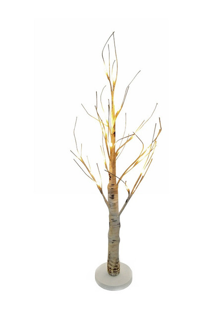 BIRCH TREE W/LED LIGHTS (Battery Operated)