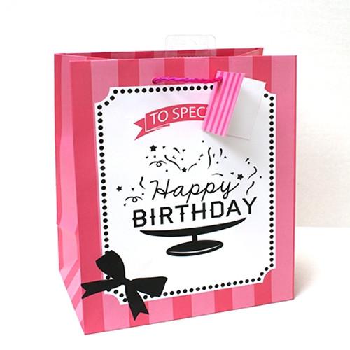 Gift Bag Medium Birthday Matt Finish