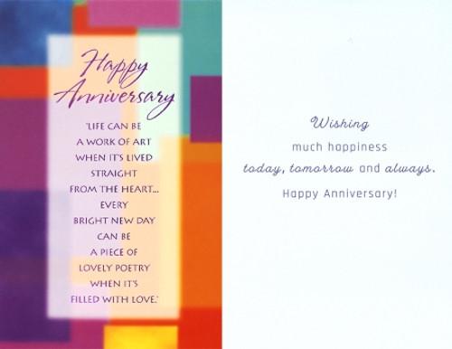 Greeting Card - Anniversary