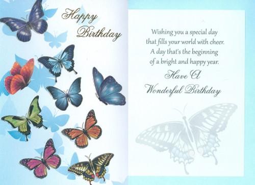 Greeting Card - General Birthday C