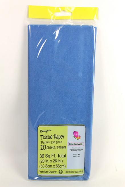 Tissue Paper - Royal Blue - 8 Sheets