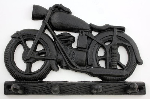 CAST IRON MOTORCYCLE KEYRACK