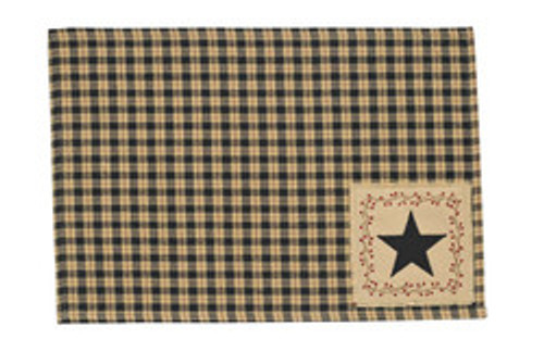 STAR PATCH PLACEMATS (4)